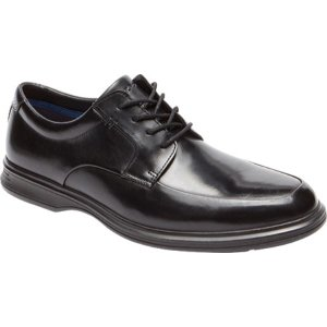ロックポート Rockport メンズ シューズ・靴 ビジネスシューズ Dressports 2 Lite Apron Toe Oxford Black Leather|fermart-shoes