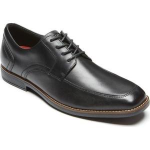 ロックポート Rockport メンズ 革靴・ビジネスシューズ シューズ・靴 Slayter Apron Toe Oxford Black Leather|fermart-shoes