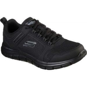 スケッチャーズ Skechers メンズ スニーカー シューズ・靴 Track Knockhill Sneaker Black/Black|fermart-shoes
