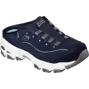 スケッチャーズ レディース スニーカー シューズ・靴 D'lites Resilient Sneaker Clog Navy/White fermart-shoes