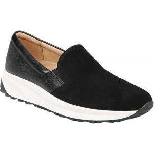 ナチュラライザー レディース スリッポン・フラット シューズ・靴 Selah Slip-On Black Leather|fermart-shoes