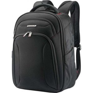 サムソナイト メンズ バックパック・リュック バッグ Xenon 3.0 Slim Backpack Black|fermart-shoes
