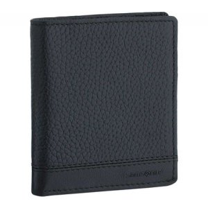 サムソナイト メンズ 財布 Serene RFID Two-Fold I.D. Wallet Black|fermart-shoes