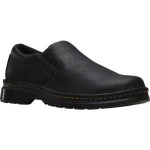 ドクターマーチン メンズ スリッポン・フラット シューズ・靴 Boyle Slip On Shoe Black Grizzly|fermart-shoes