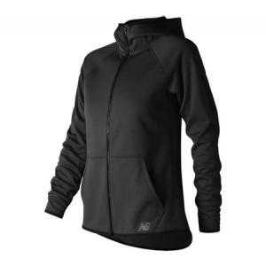 ニューバランス レディース ジャケット アウター WJ73157 Accelerate Fleece Full Zip Jacket Black fermart-shoes