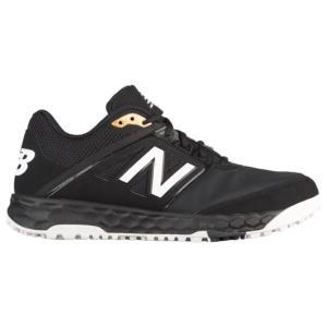 ニューバランス メンズ シューズ・靴 野球 3000v4 Turf Black|fermart-shoes