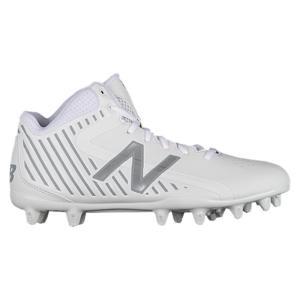ニューバランス メンズ シューズ・靴 ラクロス Rush MID White|fermart-shoes