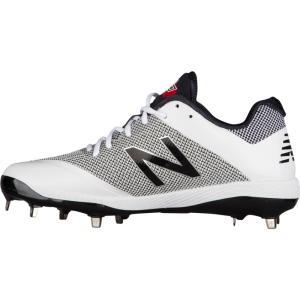 ニューバランス メンズ シューズ・靴 野球 New Balance 4040V4 Metal Low White/Camo fermart-shoes