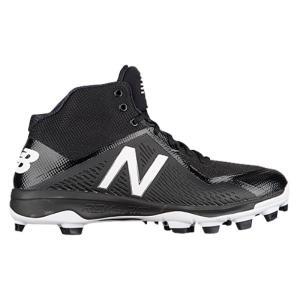ニューバランス メンズ シューズ・靴 野球 New Balance 4040v4 TPU Mid Black/Black fermart-shoes