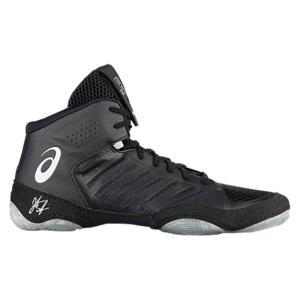 アシックス メンズ シューズ・靴 レスリング JB Elite III Black/White|fermart-shoes