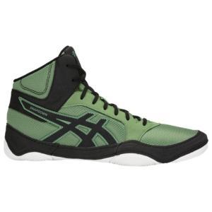 アシックス ASICS メンズ シューズ・靴 レスリング Snapdown 2 Cedar Green/Black|fermart-shoes