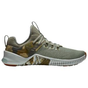 ナイキ メンズ シューズ・靴 フィットネス・トレーニング Free x Metcon Dark Stucco/Olive Canvas/Light Silver/Gum fermart-shoes