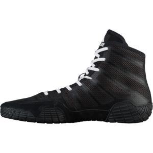アディダス adidas メンズ レスリング シューズ・靴 Adizero Varner 2 Bla...