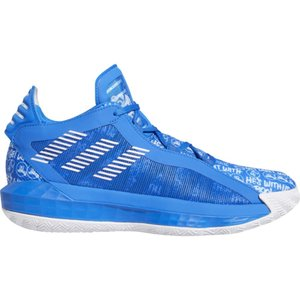 アディダス adidas メンズ バスケットボール シューズ・靴 Dame 6 Damian Lillard White/Black/Glory Blue|fermart-shoes