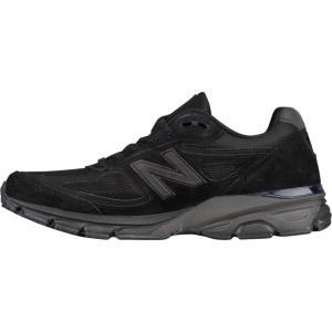 ニューバランス メンズ スニーカー シューズ・靴 New Balance 990 Black|fermart-shoes