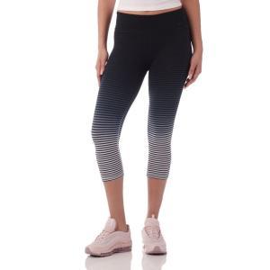 ナイキ Nike レディース スパッツ・レギンス インナー・下着 strips tights Black/Grey|fermart-shoes