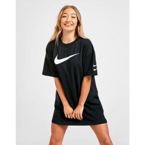 ナイキ Nike レディース ワンピース Tシャツワンピース ワンピース・ドレス swoosh t-shirt dress black|fermart-shoes