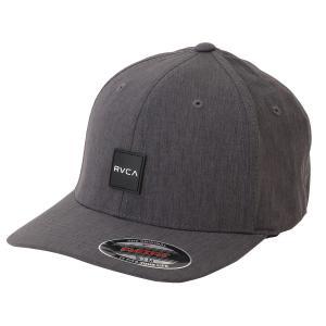【即納】ルーカ RVCA メンズ キャップ 帽子 Shift Flexfit BLACK スナップバック ボックスロゴ|fermart-shoes