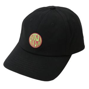 【即納】ルーカ RVCA ユニセックス キャップ 帽子 COMPOUND CAP BLACK|fermart-shoes