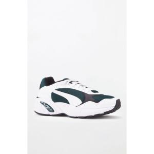 プーマ Puma メンズ スニーカー シューズ・靴 White & Green CELL Viper Shoes WHITE/GREEN|fermart2-store