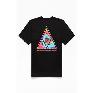 ハフ HUF メンズ Tシャツ トップス TT Tech Tie-Dyed T-Shirt BLACK|fermart2-store