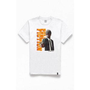 ハフ HUF メンズ Tシャツ トップス x Pulp Fiction Ezekiel T-Shirt WHITE|fermart2-store