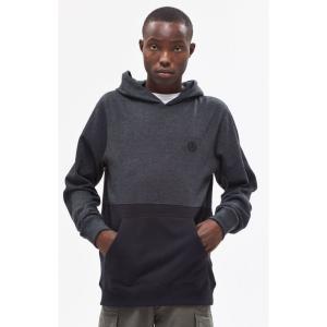ネフ Neff メンズ パーカー トップス Split Charcoal Pullover Hoodie CHARCOAL|fermart2-store