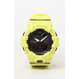 ジーショック G-Shock メンズ 腕時計 Ana-Digi Resin Steptracker Watch YELLOW|fermart2-store