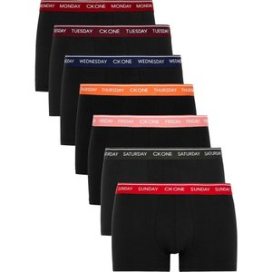 カルバンクライン Calvin Klein メンズ ボクサーパンツ インナー・下着 ck one stretch-cotton trunks - set of seven Black fermart2-store