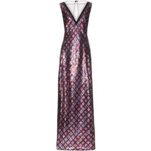 マーク ジェイコブス Marc Jacobs レディース パーティードレス ワンピース・ドレス Tulle-panel sequin-embellished gown Red|fermart2-store