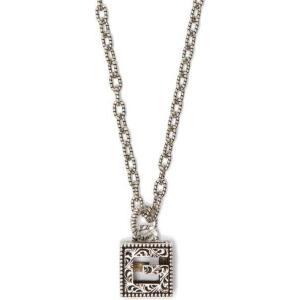 グッチ Gucci メンズ ネックレス ジュエリー・アクセサリー G-motif sterling-silver necklace Silver fermart2-store