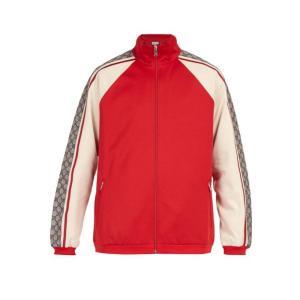 グッチ Gucci メンズ ジャージ アウター GG jersey track top Red fermart2-store