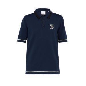 バーバリー Burberry メンズ ポロシャツ トップス Hadlow cotton polo s...