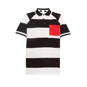 バーバリー Burberry メンズ ポロシャツ トップス Barley rugby stripe ...