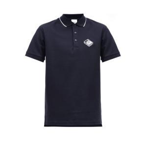 バーバリー Burberry メンズ ポロシャツ トップス Aden TB-embroidered ...