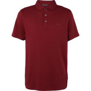 マイケル コース MICHAEL KORS MENS メンズ ポロシャツ トップス polo shirt Maroon|fermart2-store