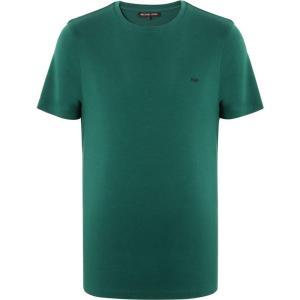 マイケル コース MICHAEL KORS MENS メンズ Tシャツ トップス T-Shirt Emerald green|fermart2-store
