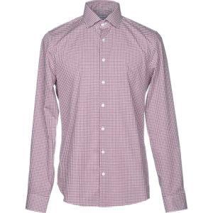 マイケル コース MICHAEL KORS MENS メンズ シャツ トップス checked shirt Garnet|fermart2-store