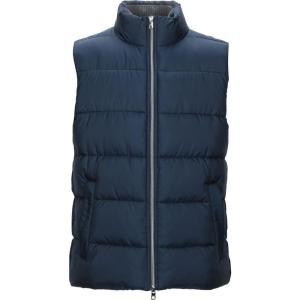 マイケル コース MICHAEL KORS MENS メンズ ダウン・中綿ジャケット アウター Synthetic Padding Dark blue|fermart2-store
