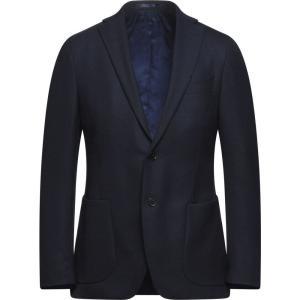 マイケル コース MICHAEL KORS MENS メンズ スーツ・ジャケット アウター blazer Dark blue|fermart2-store