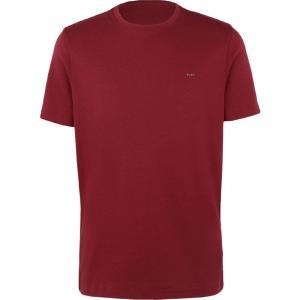 マイケル コース MICHAEL KORS MENS メンズ Tシャツ トップス t-shirt Maroon|fermart2-store