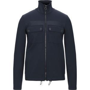 マイケル コース MICHAEL KORS MENS メンズ スウェット・トレーナー トップス Sweatshirt Dark blue|fermart2-store