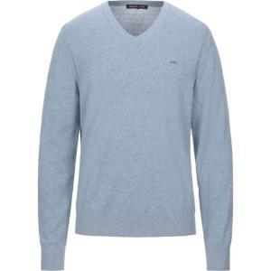 マイケル コース MICHAEL KORS MENS メンズ ニット・セーター トップス sweater Slate blue|fermart2-store