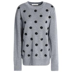 マーク ジェイコブス MARC JACOBS レディース ニット・セーター トップス Knitted sweater Gray|fermart2-store