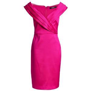 バッジェリー ミシュカ BADGLEY MISCHKA レディース ワンピース ワンピース・ドレス Faille dress Magenta|fermart2-store