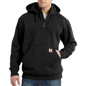 カーハート Carhartt メンズ パーカー トップス paxton heavyweight mock zip hoodie Black|fermart2-store