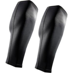 マクダビッド ユニセックス サポーター フィットネス・トレーニング McDavid Compression Calf Sleeves Black|fermart2-store