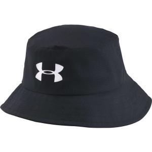 アンダーアーマー メンズ ハット 帽子 Under Armour Bucket Golf Hat Black|fermart2-store