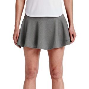 ナイキ レディース ボトムス・パンツ テニス Nike Baseline 13'' Tennis Skirt Dk Grey Heather/Dk Grey|fermart2-store