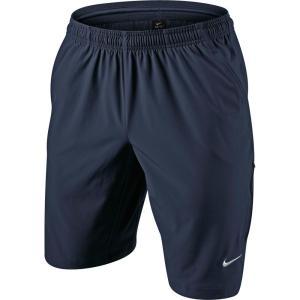 ナイキ Nike メンズ ボトムス・パンツ テニス N.E.T 11'' Woven Tennis Shorts Obsidian/White|fermart2-store
